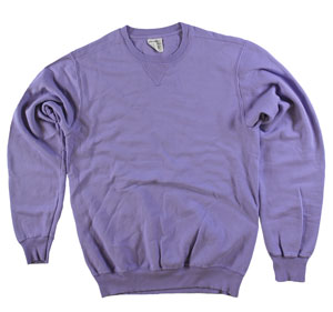 RGRiley | Adult Bulk Amethyst Garment Dyed  Sweatshirts | Irregular