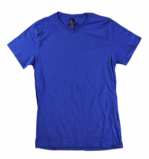 RGRiley | Mens Deep Navy V-Neck T-Shirts | Closeout