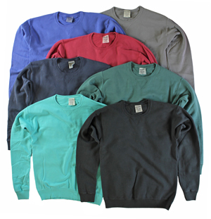 RGRiley | Mens Comfort Wash Crew Sweatshirts | Irregular