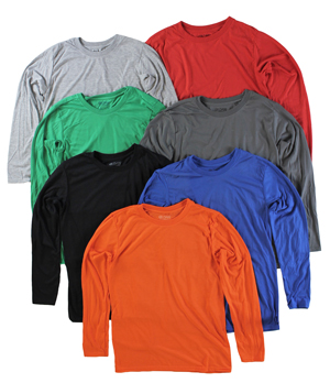 RGRiley | Gildan Mens Performance Long Sleeve T-Shirts | Irregular