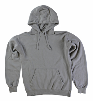RGRiley | Mens Comfort Wash Concrete Grey Pullover Sweatshirts | Irregular