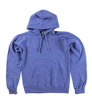 RGRiley | Mens Comfort Wash Deep Forte Blue Pullover Sweatshirts | Irregular