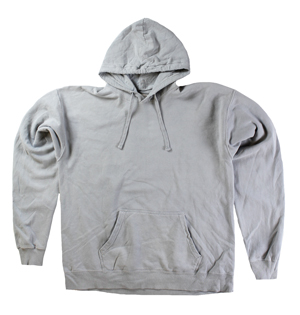 RGRiley | Mens Comfort Wash Grey Pullover Sweatshirts | Irregular