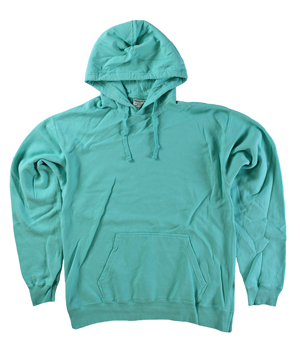 RGRiley | Mens Comfort Wash Mint Pullover Sweatshirts | Irregular