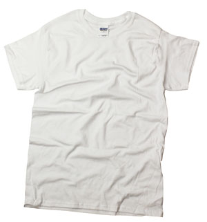 RGRiley | Mens White T-Shirts | Irregular