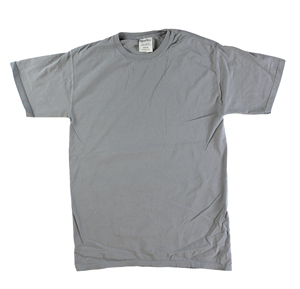 RGRiley | Mens Comfort Wash Concrete Grey T-Shirts | Irregular