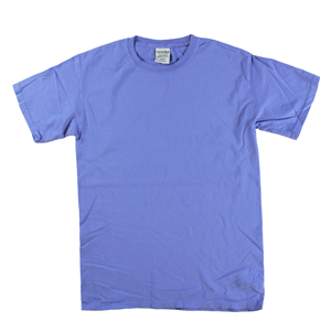 RGRiley | Mens Comfort Wash Forte Blue T-Shirts | Irregular