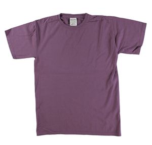 RGRiley | Mens Comfort Wash Plum Raisin T-Shirts | Irregular