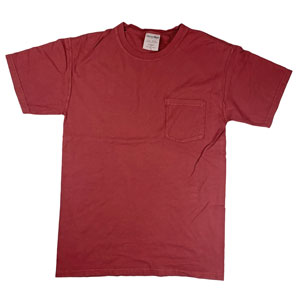 RGRiley | Comfort Wash Mens Cayenne T-Shirts | Graded Irregular