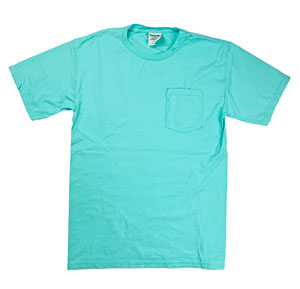 RGRiley | Comfort Wash Mens Mint T-Shirts | Graded Irregular