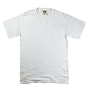 RGRiley | Comfort Wash Mens White T-Shirts | Graded Irregular