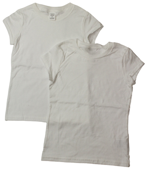 style GT03W |Girls Tearaway Label T-Shirts