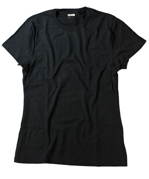 RGRiley.com | Womens Black Crew T-Shirts | Black