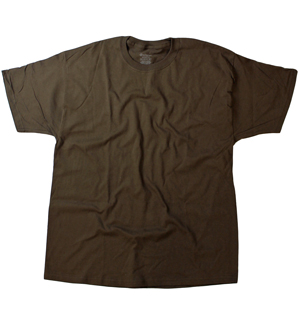 RGRiley | Hanes Mens Chocolate Jersey T-Shirts | Closeout