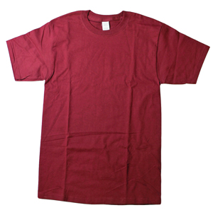 RGRiley.com | Adult Cardinal Red Tear Away Label T-Shirts | Closeout