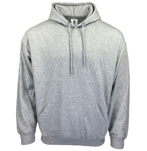 RGRiley | HomeSpun Mens Heather Grey Fleece Pullover Hoodies | Closeout