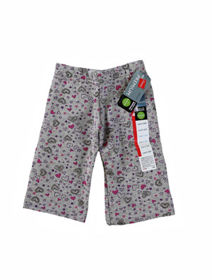 RGRiley | Infant Hearts/Grey Heather Fleece Sweatpants | Closeout