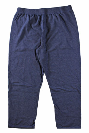 RGRiley | Womens Plus Size Navy Sweatpants | Irregular