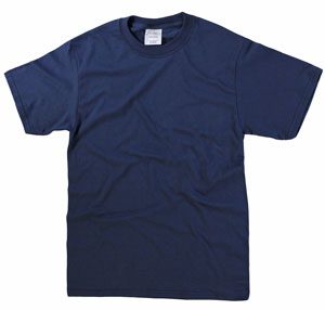 RGRiley | Mens Navy Short Sleeve T-Shirts | Imperfect