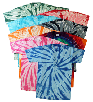 style IM119 |(*3rds) Mens Tie Dye T-Shirts
