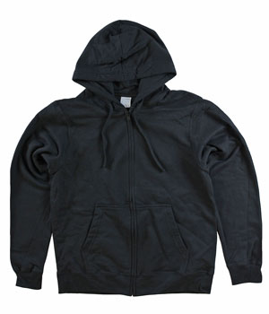 RGRiley | Mens Black Zipper Hoodies | Imperfect
