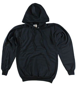 RGRiley | Mens Black Pullover Hoodies | Imperfect