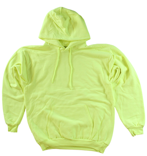 RGRiley | Mens Safety Green Pullover Hooded Sweatshirts | Imperfects & Thirds