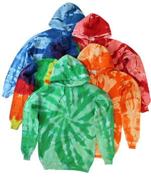 RGRiley | Mens Tie Dye Pullover Hoodies | Imprfects & Thirds