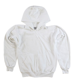 RGRiley | Mens White Pullover Hoodies | Imperfect