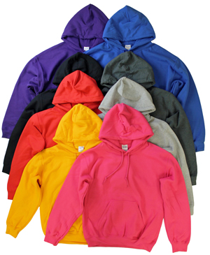 RGRiley | Gildan Mens Pullover Hooded Sweatshirts | Imperfects & Thirds