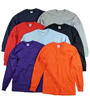 RGRiley | Gildan Mens Long Sleeve T-Shirts | Imperfects & Thirds