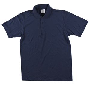 RGRiley | Mens Navy Jersey Polo Shirts | Imperfects/Thirds