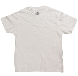 RGRiley | Boys White Short Sleeve T-Shirts | Imperfect