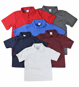 RGRiley | Youth Short Sleeve Golf Shirts | Imperfects