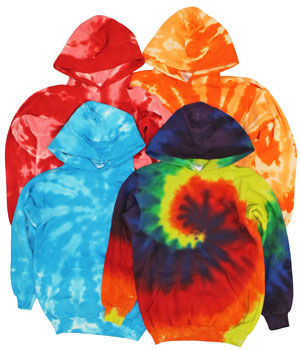 RGRiley | Boys Tie Dye Pullover Hoodies | Imperfect