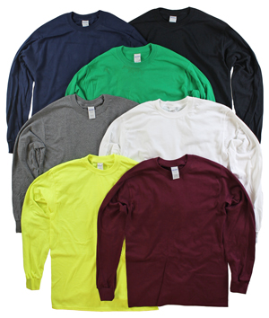 RGRiley | Gildan Mens Long Sleeve T-Shirts | Imperfect & Thirds