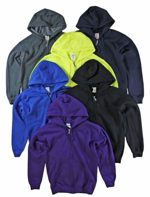 RGRiley | Gildan Mens Zipper Hooded Sweatshirts | Imperfect & Thirds