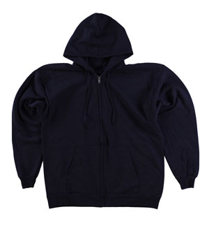 RGRiley | Gildan Mens Black Zipper Hooded Sweatshirts | Imperfects & Thirds