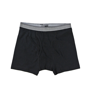 RGRiley | (*3rds*) Youth Black Boxer Brief Underwear | Imperfects