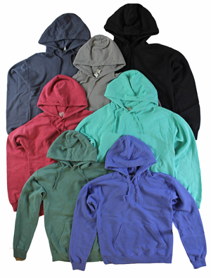 RGRiley | Adult Comfort Wash Hooded Sweatshirts | Thirds