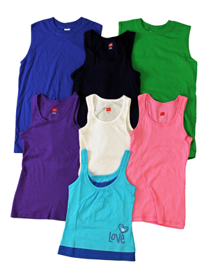 style imk25 |(*3rds*) Kids Sleeveless T's