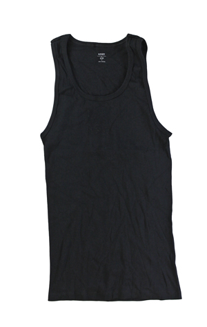 RGRiley | Mixed Brands Mens Black Sleeveless T-Shirts | Imperfects & Thirds
