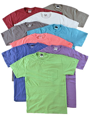 RGRiley | Mens Short Sleeve Garment Dye T-Shirts | Imperfect