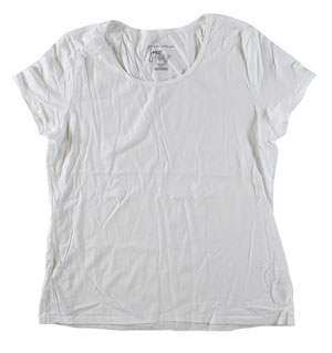 RGRiley | Womens Plus Size White T-Shirts | Imperfect