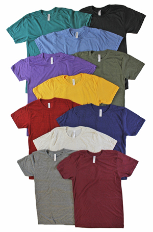 RGRiley | American Apperal Tri Blend T-Shirts | Thirds