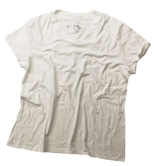 RGRiley | (*3rds*) Hanes Womens White T-Shirts | Imperfect