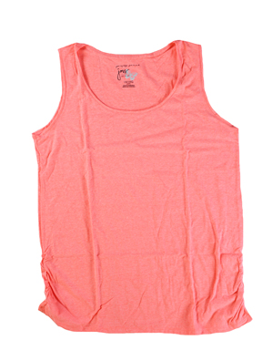 RGRiley | Hanes Plus Size Neon Fire Heather Tank Tops | Closeout