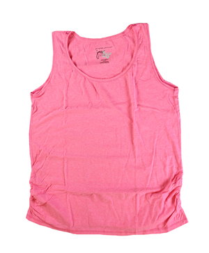 RGRiley | Hanes Plus Size Neon Pinkpop Heather Tank Tops | Closeout