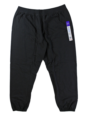 RGRiley | Hanes Womens Black Fleece Sweatpants | Closeout