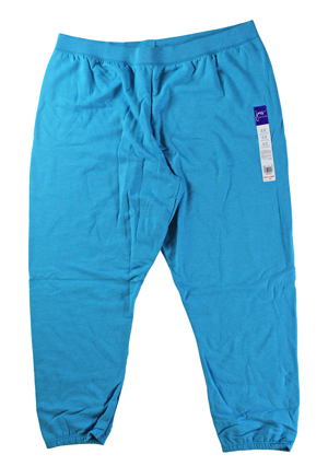 RGRiley | Hanes Womens Blue Fleece Sweatpants | Closeout